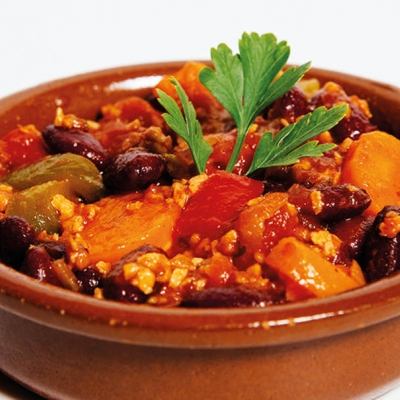 Chili con carne vegano