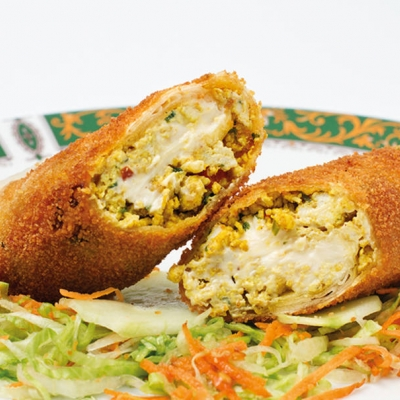 Chicken cheese roll