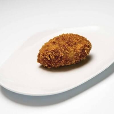 Croqueta de pollo asado