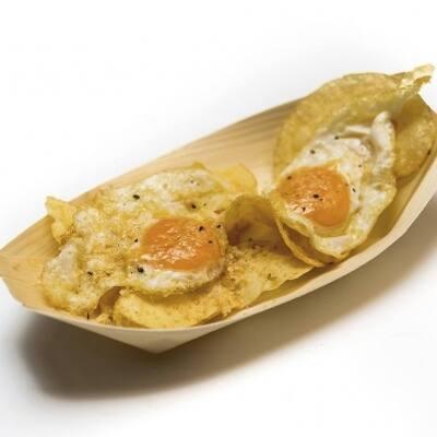 Un par de huevos de foie