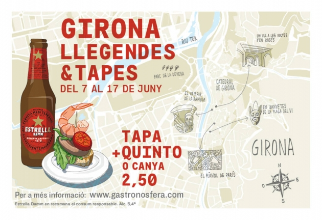 Girona Llegendes & Tapes 2018