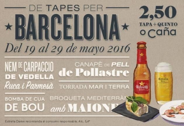 De tapes per Barcelona