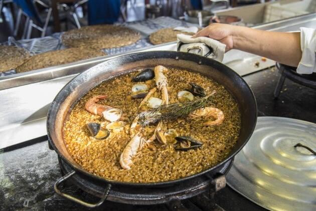 Xiringuito Escribà, arroz, paella, Barcelona, receta, restaurantes Barcelona