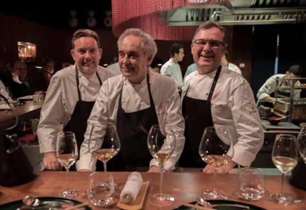 Dos Palillos: cena a seis manos entre Albert Raurich y los hermanos Adrià