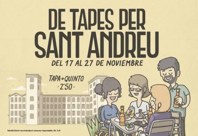 De tapes per Sant Andreu