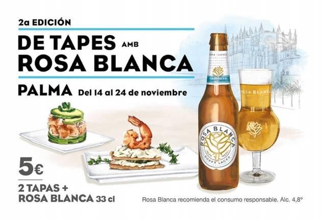 De Tapes amb Rosa Blanca Palma