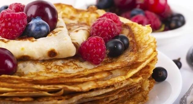Cr pes un universo de placeres dulces y salados - Como se hacen crepes dulces ...