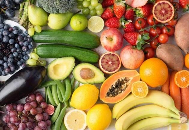 dieta del arcoíris