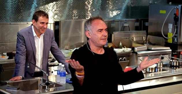 Ferran Adrià en Estrella Damm Gastronomy Congres