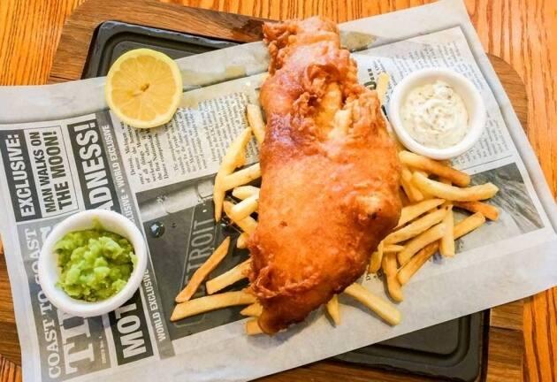 Fish and chips, la auténtica receta inglesa