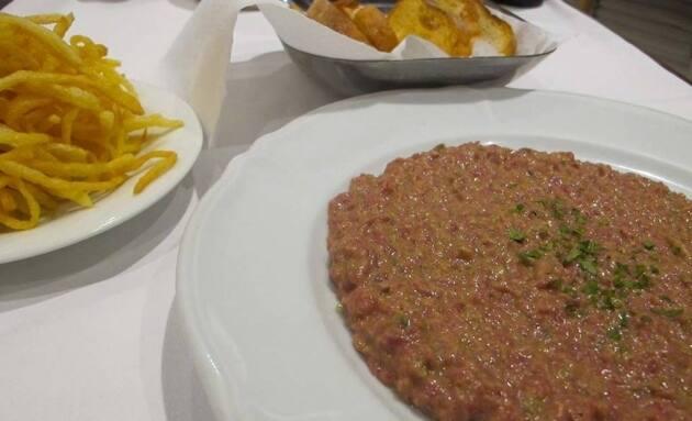 Steak tartar de El Gastrónomo