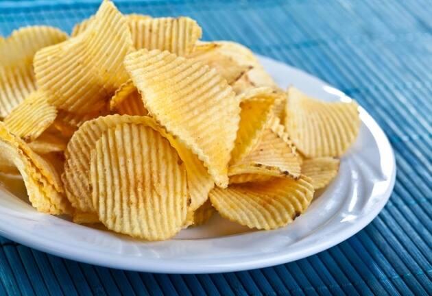 Chips de sabores hechos en casa