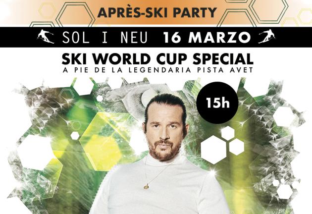 El DJ Luciano, un referente de la música electrónica, en concierto en Soldeu