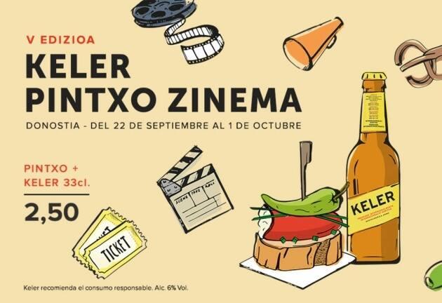 Keler Pintxo Zinema, Ruta de tapas, tapas, tapeo, pintxo, Donostia, San Sebastián