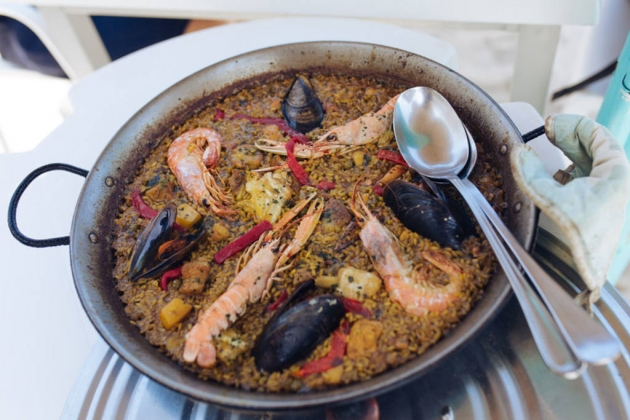 Paella mixta de Can Gavella