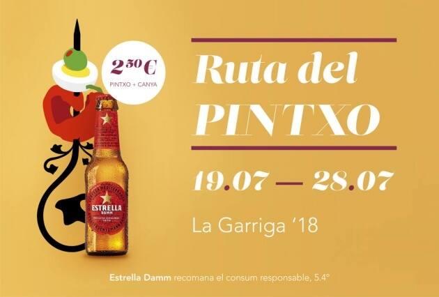 Ruta del Pintxo La Garriga 2018