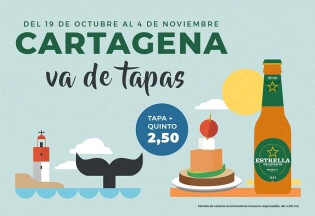 """Cartagena va de tapas"" 2018"