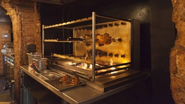 Pollos asados de Chicken Shop-Dirty Burger