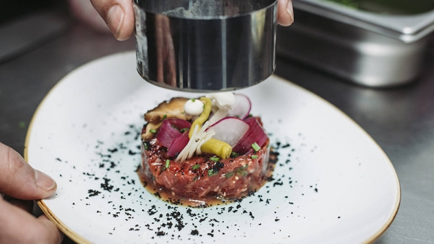 Steak tartar oriental