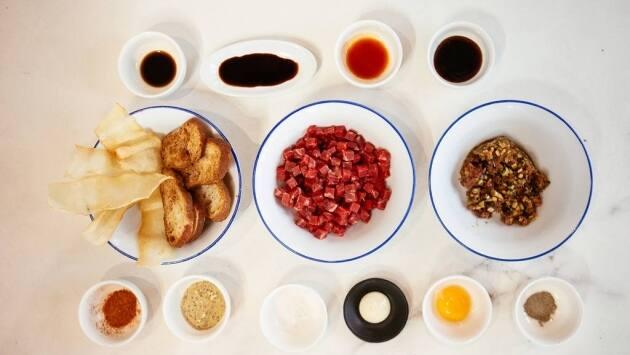 Steak Tartar siguiendo la receta de Robadora