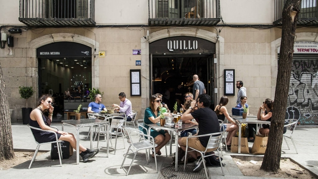 El Quillo, tapas, Catalunya, Barcelona, platillos, rumba