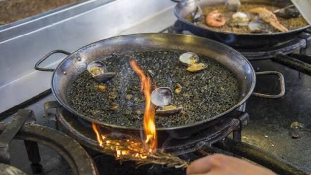 paella, Xiringuito Escribà, Restaurante, cocina marinera, paellas, restaurantes Barcelona, Paella en Barcelona