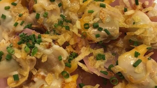 Berberechos con cebolla