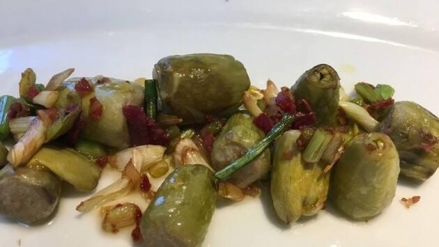 Brotes de alcachofa