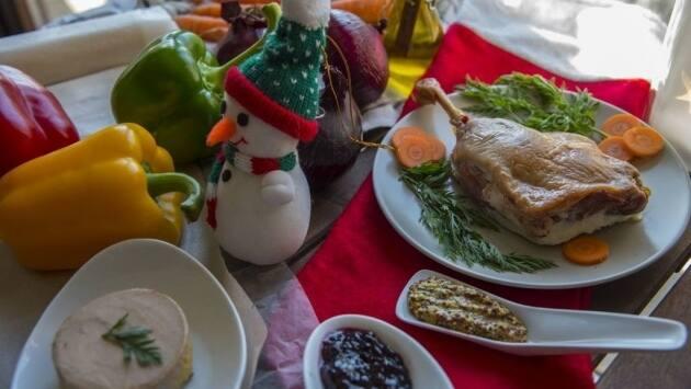 Receta de Navidad. Canelones de pato y foie. Ingredientes