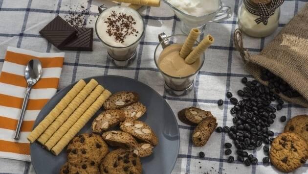 Mousse café. ¡Y a disfrutar!