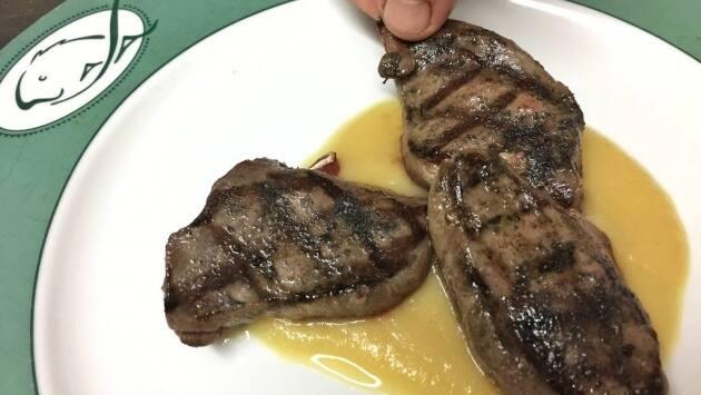 Restaurante Lasa, receta, pechugas de paloma a la brasa, restaurantes País Vasco