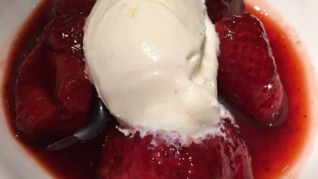 Fresas confitadas