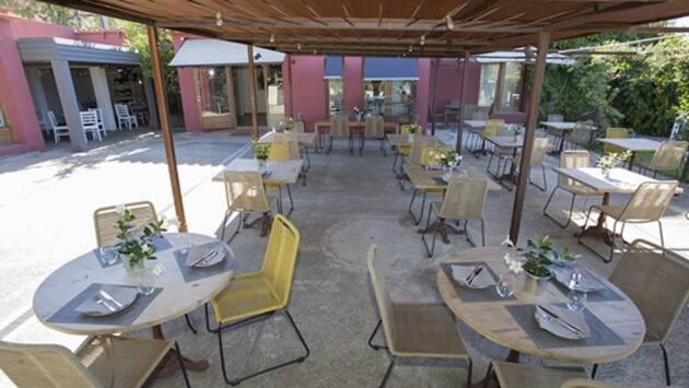 Terraza del Restaurante Sabors