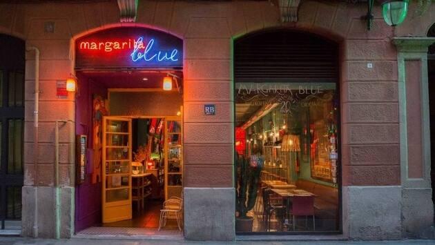 Margarita Blue Barcelona