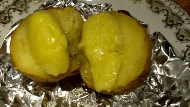 Patata al caliu