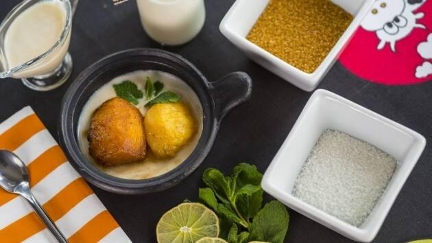 Receta de bolas piña, ron y coco