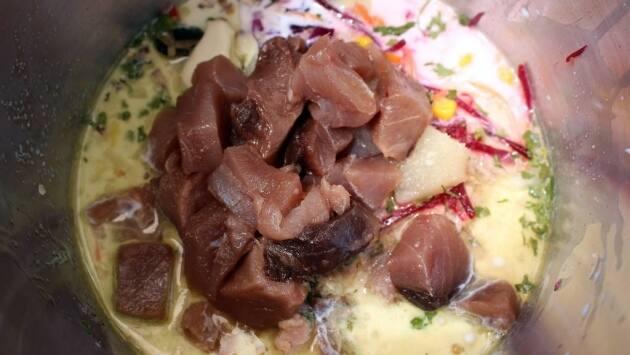 Receta atún a la brasa en salsa juliavita