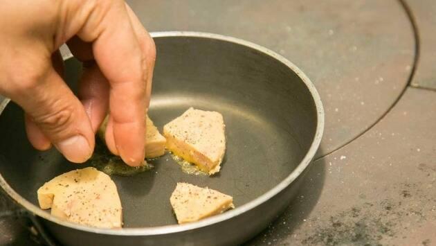 Pasamos por la paella el foie