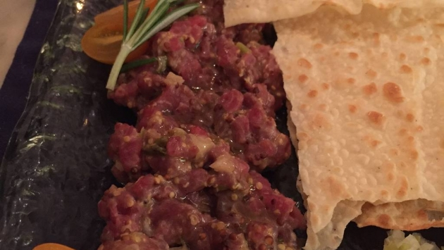 Casa Macareno. Steak tartar