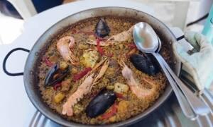 Paella mixta de Can Gavella