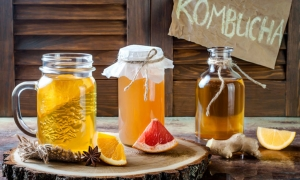 Kombucha, la bebida fermentada de moda