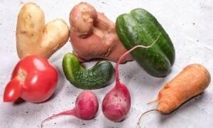 ¿Por qué las frutas y verduras feas son tendencia?
