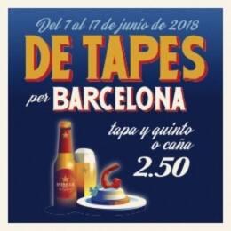 Ruta de tapas de Barcelona 2018