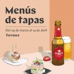'Menús de Tapes' de Terrassa
