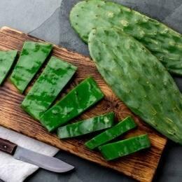 ¿Sabías que comer cactus es beneficioso para la salud?