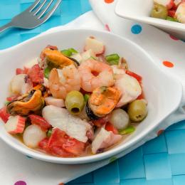 Cómo preparar un salpicón de marisco perfecto
