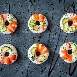 dónuts de sushi,