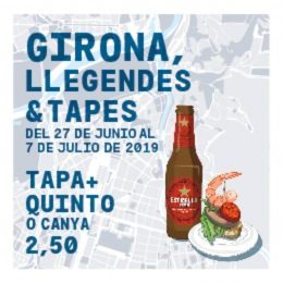 Girona Llegendes & Tapes 2019