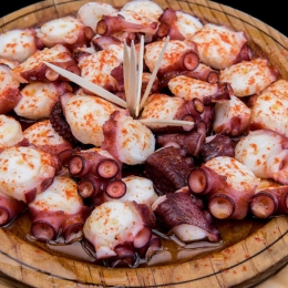 Dónde comer pulpo a la gallega en Madrid