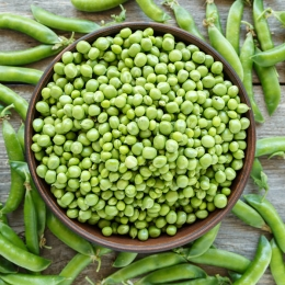 Guisantes, el caviar verde está de moda